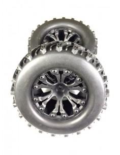 Wheel Set Monster Truck off-road black 1:10 (2db)