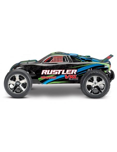 Automodel Traxxas Rustler VXL Brushless 1:10 TQi TSM Bluetooth Ready