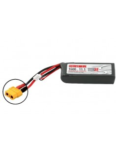 Acumulator Team Orion LiPo 1600mAh 3S Softcase11.1V 50C (XT60)