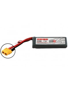 Acumulator Team Orion LiPo 2200mAh 2S Softcase 7.4V 50C (XT60)