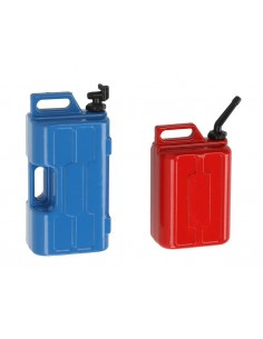 Accesorii la scara1/10: Canistra de benzina si apa Robitronic