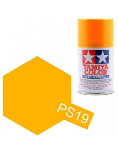 Spray Vopsea Tamiya PS-19 Galben Caramel (Polycarbonat)