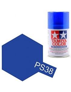 Spray Vopsea Tamiya PS-38 Albastru Translucid(Polycarbonat)