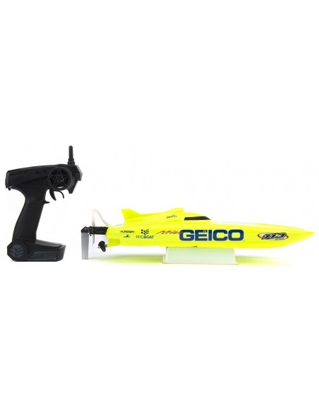 Navomodel Proboat Miss Geico 17 RTR Brushed 2.4GHZ RC