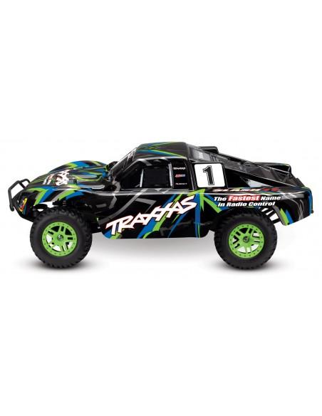 Automodel Traxxas Slash 4WD Brushed cu Acumulator si Incarcator Inclus