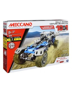 MECCANO - Kit constructie Rally 10 Model Set