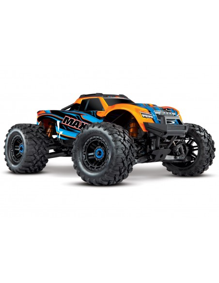 Automodel Traxxas Maxx 1/10 - 4WD - Brushless - Monster Truck - Radiocomanda TQi 2.4GHz  (cu TSM)