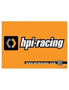 HPI Racing Banner (119cm x 84cm) Hartie Cerata
