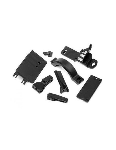 BATTERY BOX MOUNT/COVER SET Savage Flux