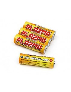 HPI Plazma 1.2V 2700mAh Nimh AA Re-Chargeable Battery (4Pcs)