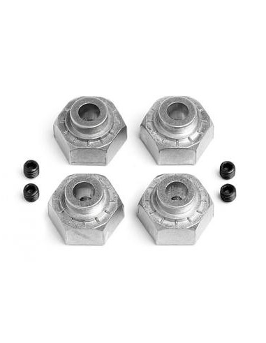 Set Hexuri HPI Metalice cu blocaj 12mm (4buc)