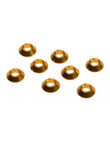 PIVOT BALL BUSHING : CONICAL 7x3x2mm DEX410/DNX408T/DEX4