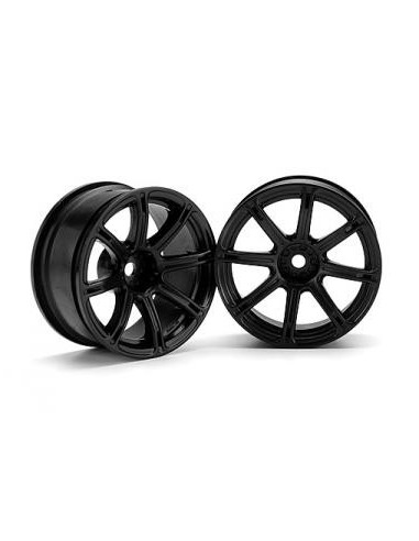 Jante Hpi WORK EMOTION XC8 26mm Negre(6mm OFFSET/2buc)