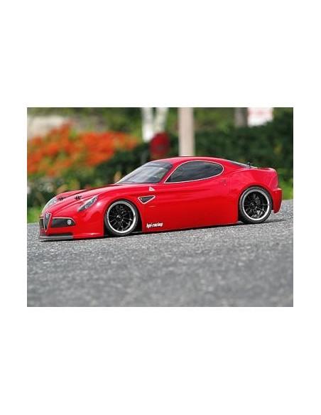 Caroserie HPI Alfa Romeo Competizione 8C (nevopsita/200mm)