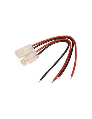 Set conectori Tamyia Mama+Tata cu cablu 10cm