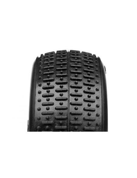 Cauciucuri Hot Bodies Fullslot (2buc/RED/Buggy 1:10 4WD Fata)