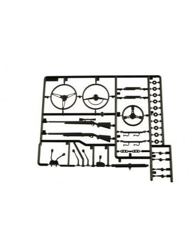 Set accesorii interior AXIAL 1/10 (negru)