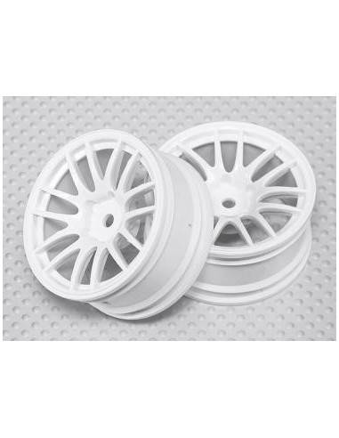 Set jante Multispoke White 3mmOFF 26mm