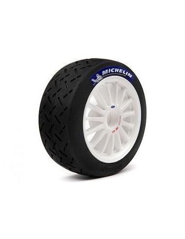 "Set roti Hpi Mounted OZ/Michelin Slicks (Albe/2buc/2.2"")"