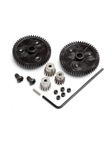 SET ELEMENTE TRANSMISIE MINI RECON(SPUR GEAR-2 buc/PINION MOTOR-