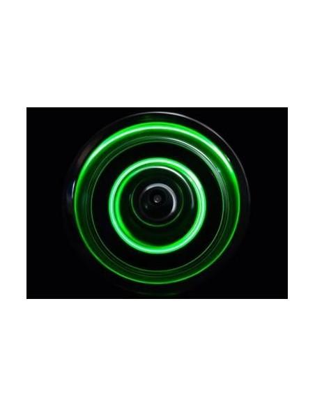 Set discuri cu LED pentru automodele 1/10 si hex 12mm(VERDE)
