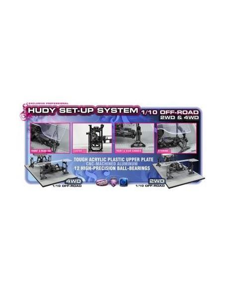 Stand reglaj automodele Hudy 1/10 Offroad 2WD & 4WD Premium
