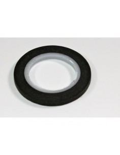 Banda liniere caroserii neagra 4mm/10m Absima