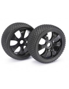 Set roti LP Buggy Dirt Black 1/8 Absima