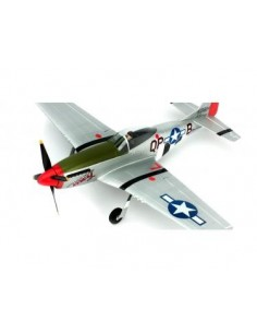 Avion Ultra-Micro P-51D Mustang RTF cu sistem AS3X