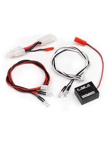 HPI Set LED (rosu/alb)