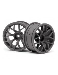 Set jante HPI RTRX 26MM GUNMETAL (6MM OFFSET/2buc)