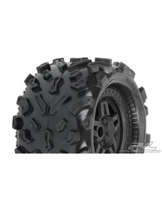 "Set Roti Proline Big Joe 3.8"" (40) All Terrain MT, Montate pe jante Tech 5 Zero Offset 17mm"