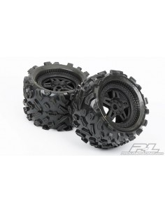 "Roti Big Joe 3.8"" (40) All Terrain MT, Montate pe Tech 5 Zero Offset 17mm"