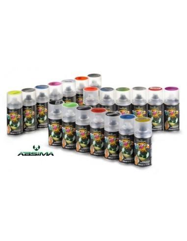 Spray Vopsea Lexan Negru Absima (150ml)
