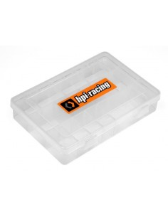 HPI 200X135MM PARTS BOX W/DECALS