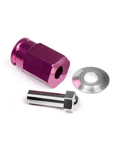 HPI Kit Hexuri Late Aluminiu 12x24mm(mov)