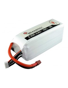 Acumulator Lipo 6S 22.2v 5200mah 45C Brainergy Softcase Deans