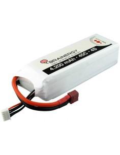 Acumulator LIPO 4S 14.8v 4200mah 45C Brainergy Softcase Deans