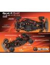 Automodel Hpi Sprint 2 Flux RTR BMW GT3 Brushless Orange