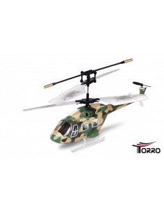 Elicopter Torro Rescue 3 Army 3-CH Gyro Coaxial