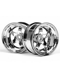 JANTE HPI WORK MEISTER S1 26mm CHROME (9mm OFFSET)