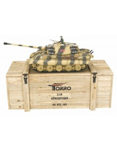 Tanc radiocomandat King Tiger 1/16 Pro Edition Metal 1/16
