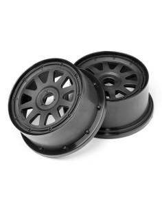 Set Jante 1/5 TR-10 Negre Spate(120x65mm/-10mm OFFSET)