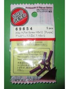 Suruburi aluminiu M3x6 Hiro Seiko (5buc/Mov)