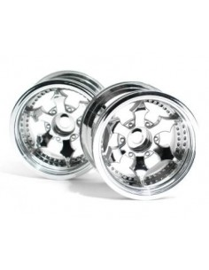 JANTE HPI SPIKE TRUCK (SHINY CHROME/2buc)