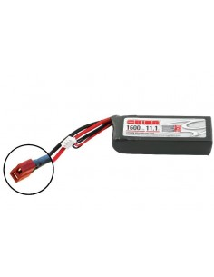 Acumulator Team Orion LiPo 1600 3S Softcase11,1V 50C (Deans)