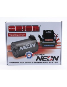 Combo Brushless Team Orion Vortex Neon (motor/esc)