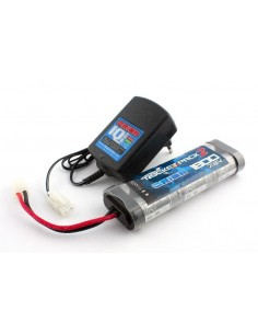 Set incarcator si acumulator 1800mah NIMH 7.2v Team Orion