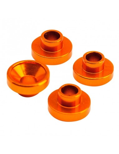 Saibe servo din aluminiu 4.3mm Orange