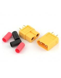 Set conectori XT60 Mama/Tata (Termocontractibil inclus)